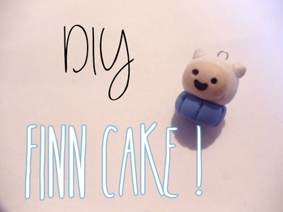 Adventure Time Finn Cake Tutorial [Polymer Clay ^_^]