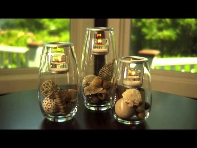 Clearly Creative Candle Holder Collection by PartyLite