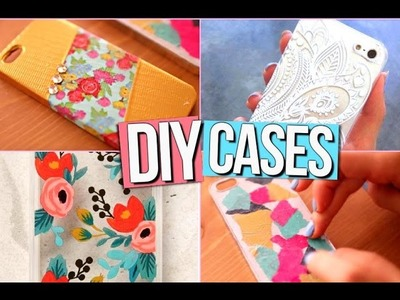 DIY Easy Phone Cases!