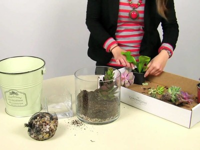 DIY Here's how to make a quick terrarium by The Garden Gates
