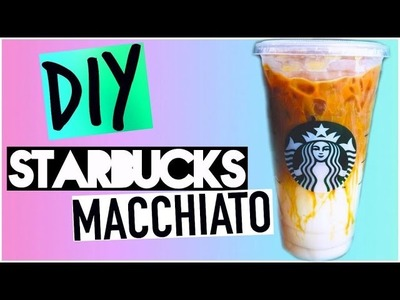 DIY Starbucks Drinks for Summer!