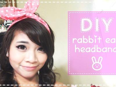 DIY: Usamimi or Rabbit Ear Headband