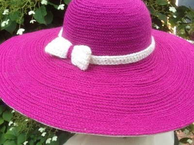How To Make A Beautiful Crochet Summer Hat - DIY Style Tutorial - Guidecentral