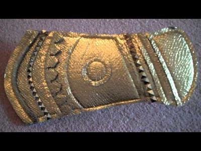 How to Make Loki Costume Bracers