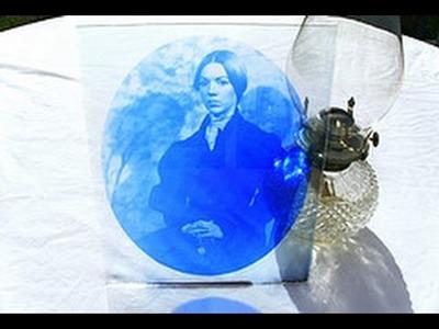 How to Print Cyanotype on Glass
