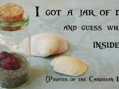 """I got a Jar of Dirt!"" {Pirates of the Caribbean Inspired} - Polymer Clay"