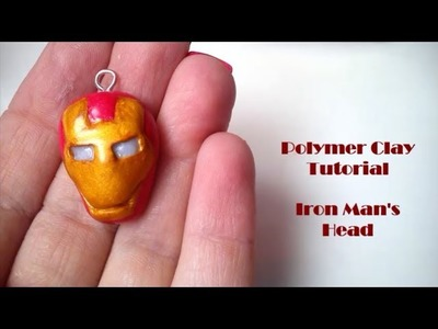 Iron Man's Head Polymer Clay Tutorial - Avengers Part 2