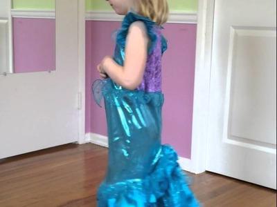 Just Pretend Kids Ocean Mermaid Costume Makes Toy Insider Kid Lena Feel Beautiful!