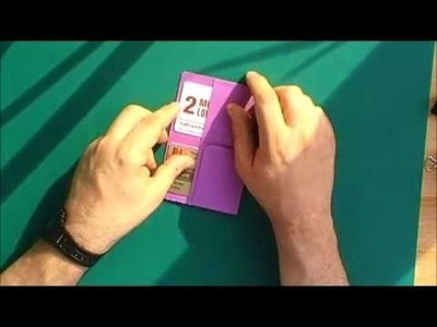 Making a credit card insert for your traveler's notebook