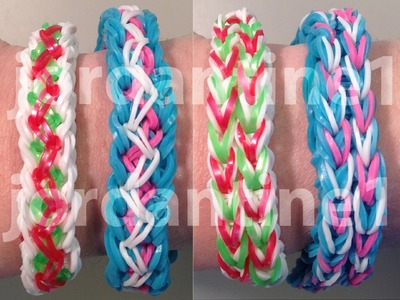 New Unity Bracelet - Reversible - Rainbow Loom