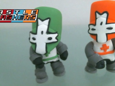 Polymer Clay: Castle Crashers - Tutorial