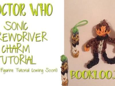 Rainbow Loom 11th Doctor's Sonic Screwdriver Charm