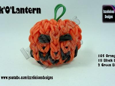 Rainbow Loom (Halloween) 3D Jack-O'-Lantern Pumpkin Head Charm - Gomitas