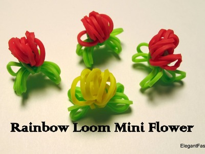 Rainbow Loom Mini Flowers - How to