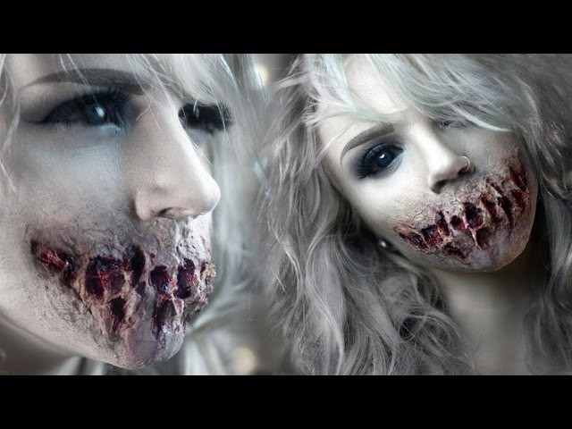 Speak No Evil - Zombie Mouth Special FX Makeup Tutorial