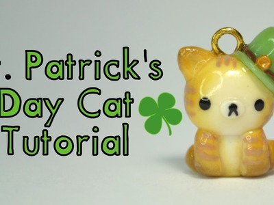 ♧ St. Patrick's Day Cat Polymer Clay Tutorial ♧