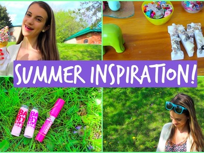 Summer Inspiration! DIY Tumblr Room Decor, Outfit Idea, & Essentials!