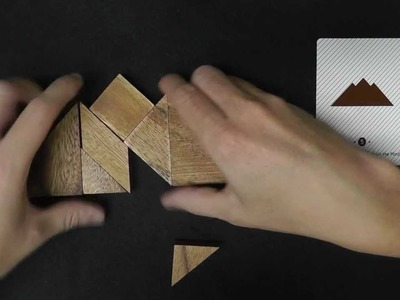 Tangram Wooden Puzzle Solving (Part 1) for ASMR and Relaxation