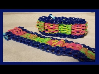 The Rattan Bracelet on the Rainbow Loom - By Willowcreat AKA Cheryl Mayberry