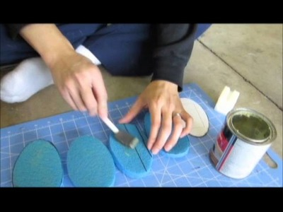 Tutorial on Creating a Foam Gladius: Fun With Plastidip Part 1 of 5