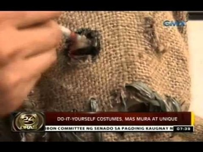 24 Oras: Do-it-yourself na halloween costumes, mas mura at unique