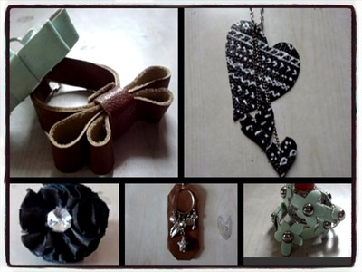 25 Accessories with Old Bags || Part 4 || Scrap Leather || Includes 7 DIY