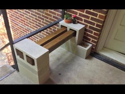 DIY | Building A Bench
