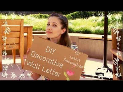 DIY - Decorative Wall Letter