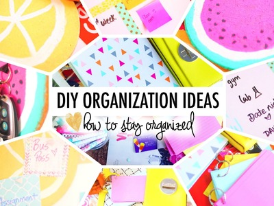 DIY School.Life Organization Ideas | #B2SwithRoxy