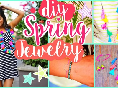 DIY Spring Jewelry♡ Bethany Mota Inspired!