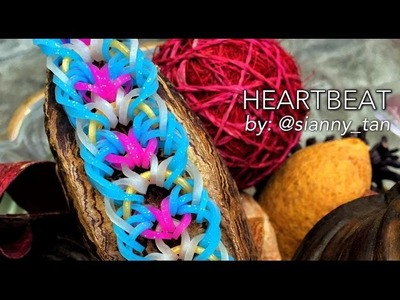 HEARTBEAT Hook Only bracelet tutorial