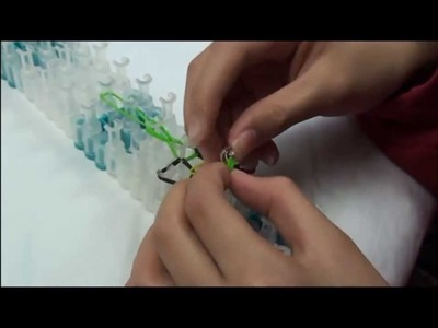 Lesson 6: Rubber band ring made with Rainbow Loom® Kit