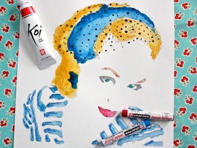 Not an Artist? No Problem! Paint Realistic Watercolor Portraits