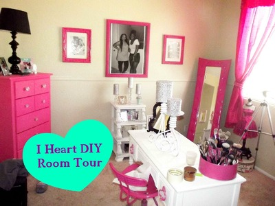 Official DIY Makeup Room Tour & How To