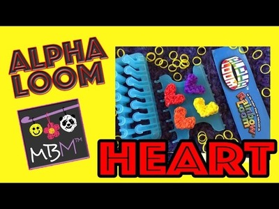 Rainbow Loom Alpha Loom Heart Charm