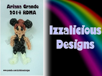 Rainbow Loom Ariana Grande Action Figure.Charm - Gomitas