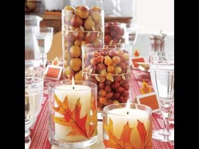 Thanksgiving centerpieces decorating ideas
