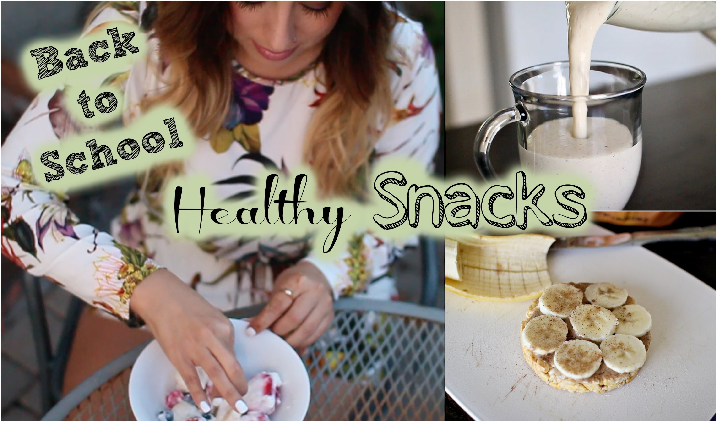 Back to School: DIY Healthy Snacks & More