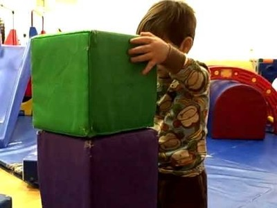 Big soft blocks - the perfect active toddler toy
