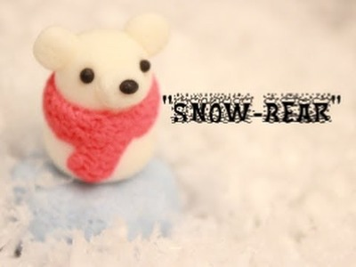 "Cold Porcelain. Polymer ClayTutorial - ""SnowBear"""