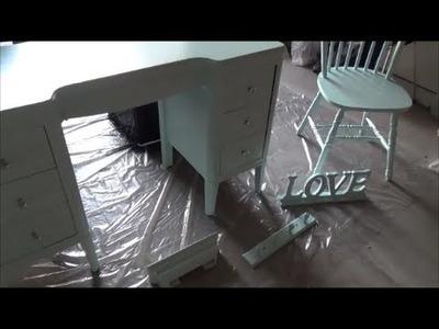 DIY Vanity Desk Makeover