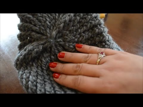Easy Decrease Drawstring Gathered Bind Off