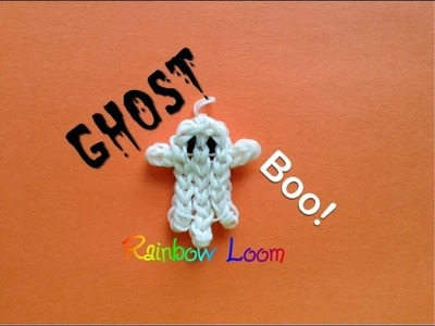 EASY Rainbow Loom Ghost Charms