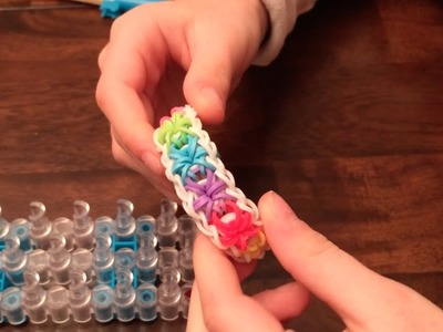 Easy Steps to a Starburst Rainbow Loom Bracelet