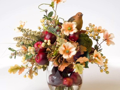 Fall Floral Arrangements and Wreaths