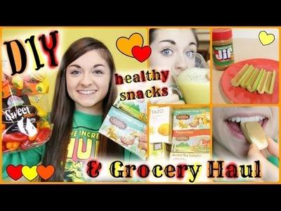 Grocery Haul | DIY Healthy After - School Snacks | xxmakeupiscoolxx