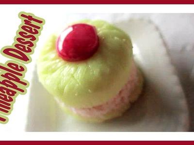 Healthy Pineapple Dessert (Polymer Clay Tutorial)