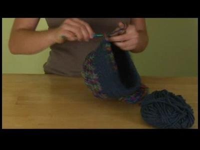How to Crochet a Hat : Taking in a Crochet Hat