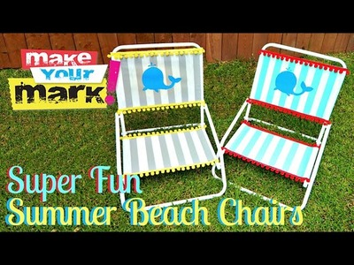 How to: Lawn Chair Makeover