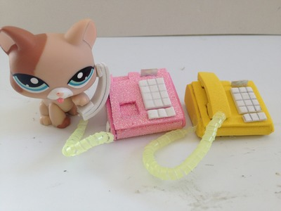 How to make a LPS.Doll Phone: LPS accessories